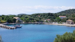 Port of the beautiful island of Kastos