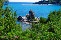 rocks on kefalonia east coast