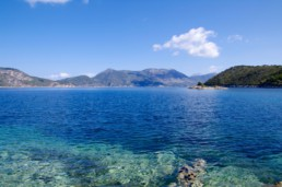 Kalamos and Kastos islands in the ionian sea